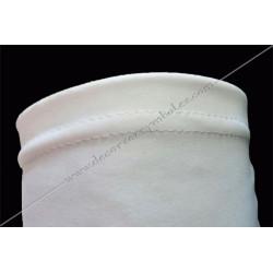 GLB 010 gants blancs, lycra, ceremonie, decors, fm, maconniques, franc-maconnerie, loges, coton, apprenti