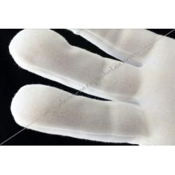 GCB 010 gants coton, lycra, ceremonie, decors, maconniques, franc-maconnerie, loges, fm, apprenti