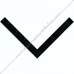 RA 035N-collerette-cordon-ras-cou-vmi-ruban-30eme-degre-reaa-fm-rite-ecossais-ancien-accepte-decors-maconniques-loges-fm