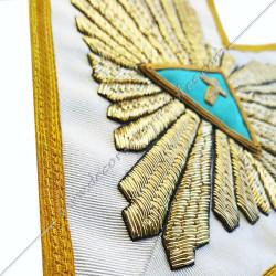 HRF 550-sautoir-maconnique-5eme-ordre-rite-francais-chapitre-hauts-grades-sagesse-ateliers-superieurs-fm-decors