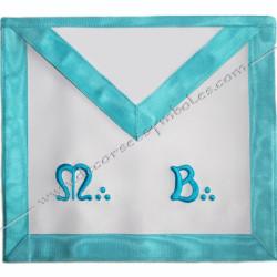 TRF 040LB-tablier-maconnique-maitre-rite-francais-groussier-decors-franc-maconnerie-rituels-loges-accessoires-fm