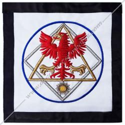 HRM054-tablier-maconnique-12eme-degre-chevalier-aigle-rouge-goe-egyptien-decors-franc-maconnerie-loges-fm