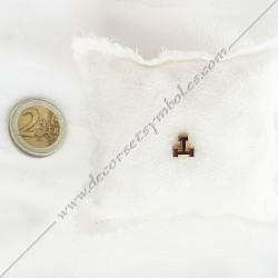 pin's arche royale doré à l'or fin. Décors, symboles et signes maçonniques. Accessoires, bijoux de franc maçonnerie, FM