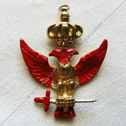 FGK335-bijou-maconnique-12eme-degre-goe-memphis-misraim-aigle-rouge-chevalier-decors-franc-maconnerie-loges-fm