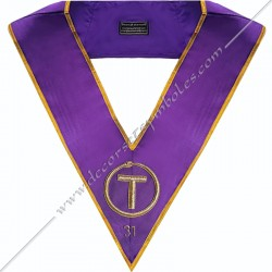 Collar 31th degree GOE -...