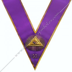 Collar 32th degree GOE -...