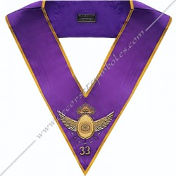 Collar 33th degree GOE -...
