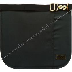tablier, RF, franc maçonnerie, dos noir, gants, poche, ceinture élastique, accessoires, décors, franc maçonnerie