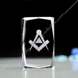YMC100-Cube-maconnique-verre-grave-equerre-compas-cadeaux-décors-franc-maconnerie-symboles-décoration-incrustation-fm