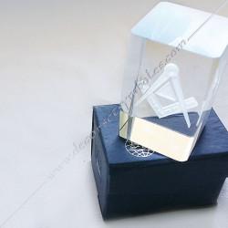 YMC100-Cube-maconnique-verre-grave-equerre-compas-cadeaux-décors-franc-maconnerie-symboles-fm-décoration-incrustation