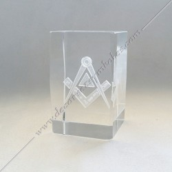 YMC100-Cube-maconnique-verre-grave-equerre-compas-cadeaux-décors-franc-maconnerie-fm-symboles-décoration-incrustation