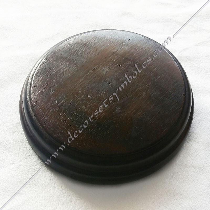 OUT 015 - Tas maçonnique en bois Maillets. Outils de loges, accessoires de franc maçonneries, FM