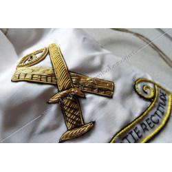 Tronc de la veuve, sac maçonnique. Outils de loges, accessoires de franc maçonnerie, FM,  symboles et signes, personnalisés