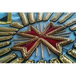 VRE010C-sautoir-maconnique-cordons-vene-venerable-rite-regime-ecossais-rectifie-decors-franc-maconnerie-fm-templier