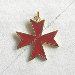 Pendant Templar Cross -...