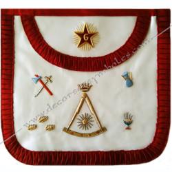 HRF379-tablier-maconnique-2eme-ordre-rite-francais-decors-franc-maconnerie-loges-rituels-sagesse-grades-hauts-fm