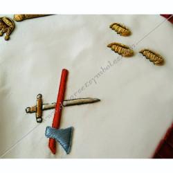 HRF379-tablier-maconnique-2eme-ordre-rite-francais-decors-franc-maconnerie-loges-rituels-sagesse-fm-grades-hauts