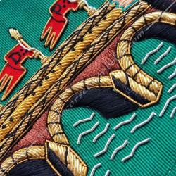 HRF039-echarpe-maconnique-cordon-3eme-ordre-rite-francais-gcg-godf-hauts-grades-ateliers-decors-fm-franc-maconnerie