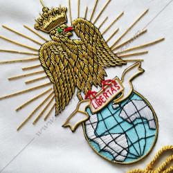 HRF478-tablier-4eme-ordre-rite-francais-go-godf-orient-decors-maconniques-chapitres-accessoires-fm-rituels-chapitre-libertas
