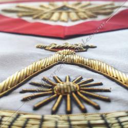 HRA241-tablier-maconnique-rite-francais-decors-franc-maconnerie-loges-grades-hauts-sagesse-fm-superieurs-rituels
