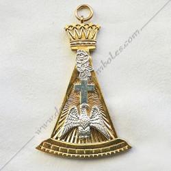 FGK240-bijou-maconnique-4eme-ordre-rite-francais-sagesse-decors-franc-maconnerie-fm-symboles-rose-croix
