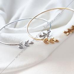 Acacia Bangle Bracelet -...