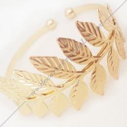 bracelet-jonc-manchette-branches-feuilles-acacia-dore-argente-bijoux-fantaisie-cadeaux-maconniques-femmes-decors-symboles-fm