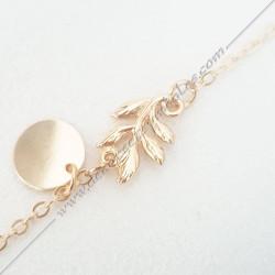 bracelet-fin-chaine-acacia-dore-argente-bijoux-fantaisie-cadeaux-maconniques-femmes-decors-symboles-fm