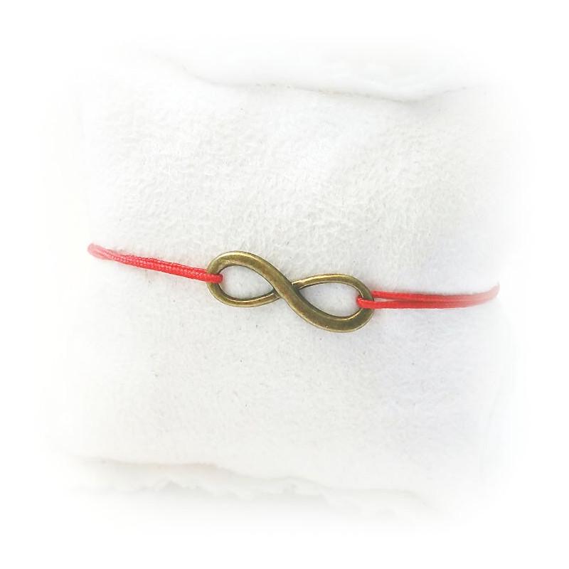 MSC210- Bracelet-infini-lac-amour-cordon-couleur-bijoux-or-cadeaux-maconniques-femmes-decors-symboles-signes-FM