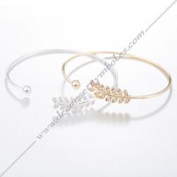 Bracelet Jonc Acacia et...