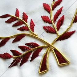 HRA246-maconnique-reaa-tabliers-14eme-degre-rite ecossais-ancien-accepte-decors-franc-maconnerie-elus-fm-accessoires-chapitre