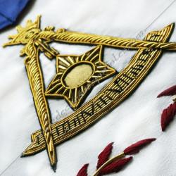 HRA246-maconnique-reaa-tabliers-14eme-degre-rite ecossais-ancien-accepte-decors-franc-maconnerie-elus-accessoires-fm-chapitre