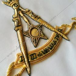 HRA246-maconnique-reaa-tabliers-14eme-degre-rite ecossais-ancien-accepte-decors-fm-franc-maconnerie-elus-accessoires-chapitre