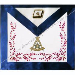 HRA246-maconnique-reaa-tabliers-14eme-degre-rite ecossais-ancien-accepte-decors-franc-maconnerie-elus-accessoires-chapitre-fm