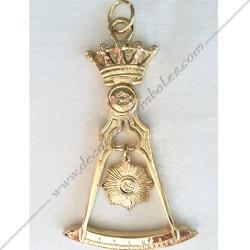 FGK255-bijoux maconniques-reaa-14eme degre-decors-franc-maconnerie-ecossais-accepte-elu-voute-sacree-loges-fm