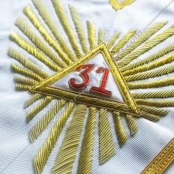 1er Grand Juge - Officier 30ème Degré - REAA - HRA 042