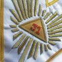 Chandelier Maconnique 3 Branches doré Bougies - Accessoires Franc-maconnerie - CHD 003