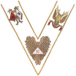 Collar 31th Degree - AASR -...
