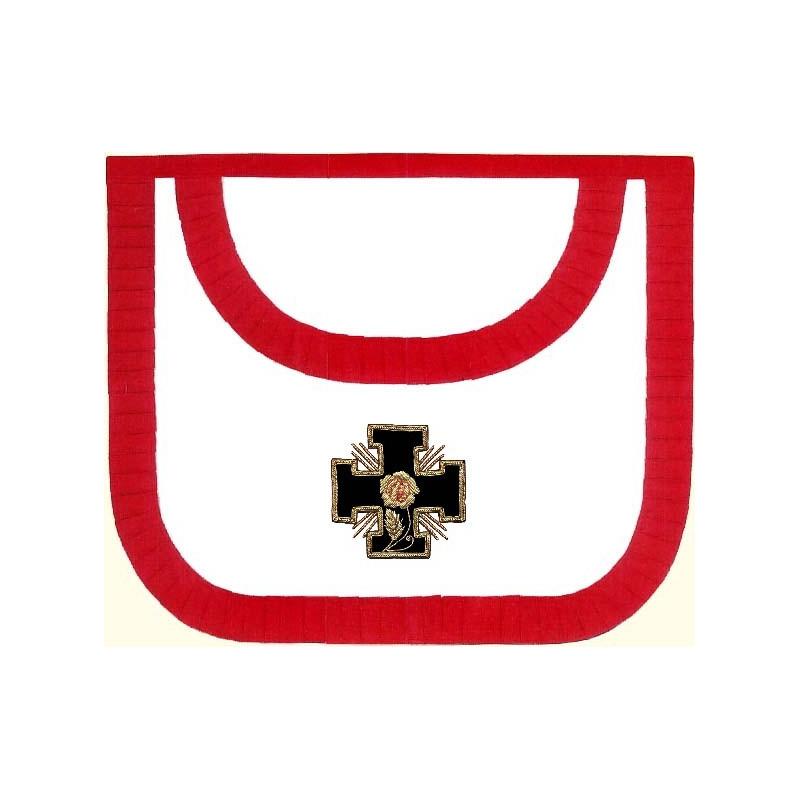 HRA327-tablier-maconnique-18eme-degre-rite-ecossais-ancien-accepte-ateliers-superieurs-perfection-decors-symboles-reaa-fm