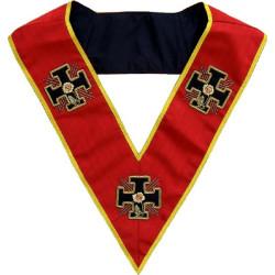 HRA165-sautoir-maconnique-18eme-degre-rite-ecossais-ancien-accepte-ateliers-superieurs-perfection-reaa-decors-accessoires-fm