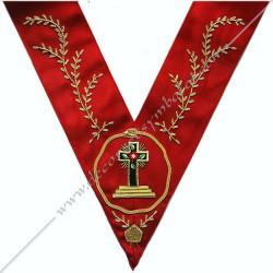 Tablier 2ème Ordre - Rite Francais - HRF 169