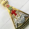 Tablier 2ème Ordre - Rite Francais - HRF 362