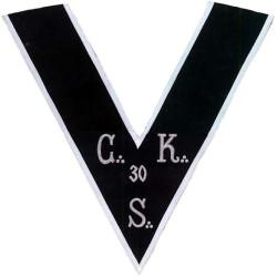 HRA013-sautoir-cordon-maconnique-33eme-degre-reaa-ecossais-cks-33-consistoire-areopage-ateliers-superieurs-fm