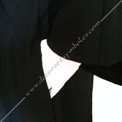 RHS100-robe-maconnique-noire-glff-reaa-femme-croix-malte-loge-feminine-france-coupe-glm-mm-fm-memphis-misraim