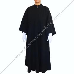 RHS100-robe-maconnique-noire-glff-reaa-femme-croix-malte-loge-feminine-france-coupe-glm-mm-memphis-misraim-fm