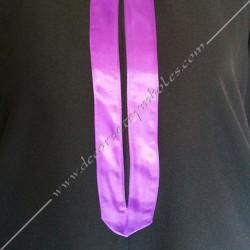RHS120-robe-maconnique-noire-memphis-misraim-pourpre-ruban-decors-loges-martiniste-source-glmmm-fm-objets-venise