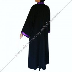 RHS120-robe-maconnique-noire-memphis-misraim-pourpre-ruban-decors-loges-martiniste-fm-source-glmmm-objets-venise