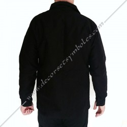 VCH100-veste-maconnique-bourgeron-noire-charpentier-coton-decors-accessoires-maconniques-outils-fm-cadeaux-loge-rite