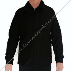 VCH100-veste-maconnique-bourgeron-noire-charpentier-coton-decors-accessoires-maconniques-outils-cadeaux-loge-rite-fm