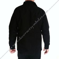 VCH110-veste-maconnique-bourgeron-noire-charpentier-coton-decors-accessoires-maconniques-outils-fm-cadeaux-loge-rite